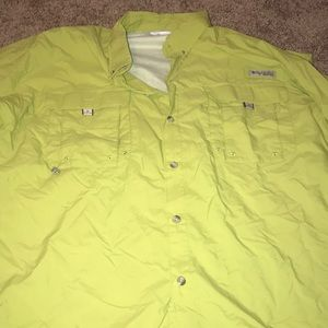 Columbia Neon Fish Shirt